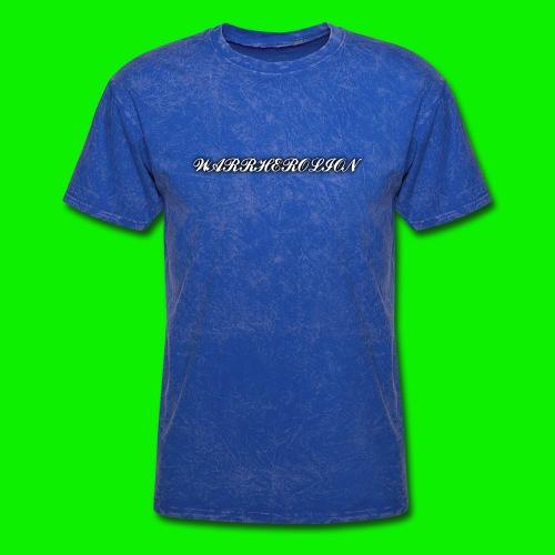 Warherolion plane text-gray - Men's T-Shirt