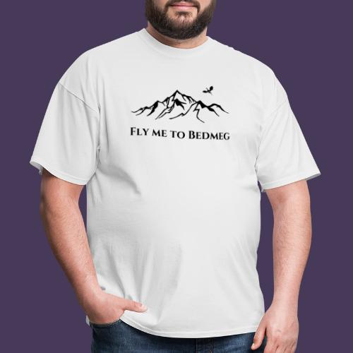 Fly Me To Bedmeg (black) - Men's T-Shirt