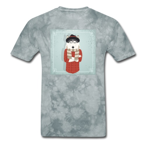 Hispter Dog - Men's T-Shirt