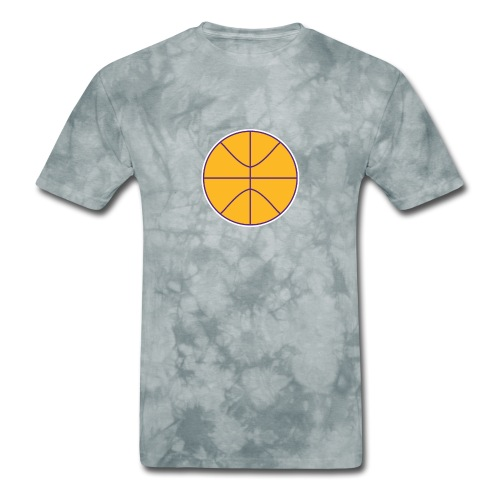 Basketball purple and gold - Men's T-Shirt