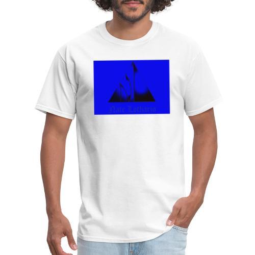 Blue Logo 2 - Men's T-Shirt