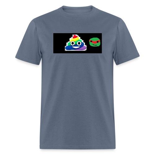 ninja poop - Men's T-Shirt