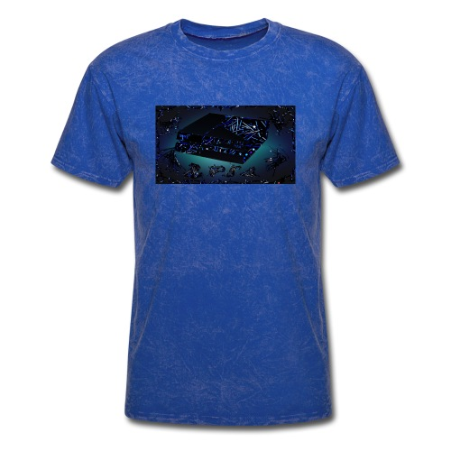ps4 back grownd - Men's T-Shirt