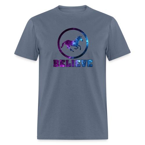 Believe Unicorn Universe 6 - Men's T-Shirt