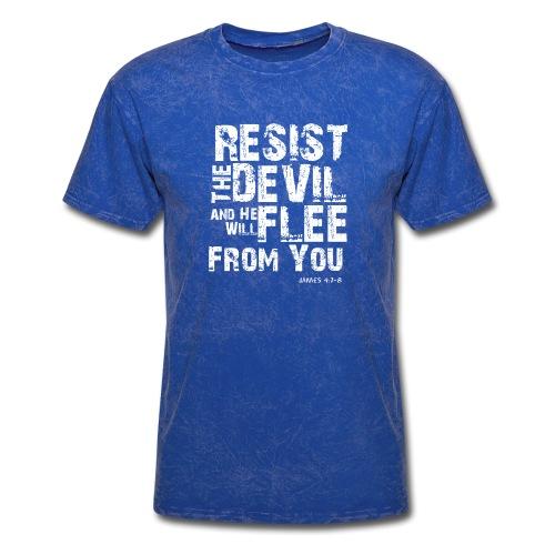Resist the Devil - Men's T-Shirt