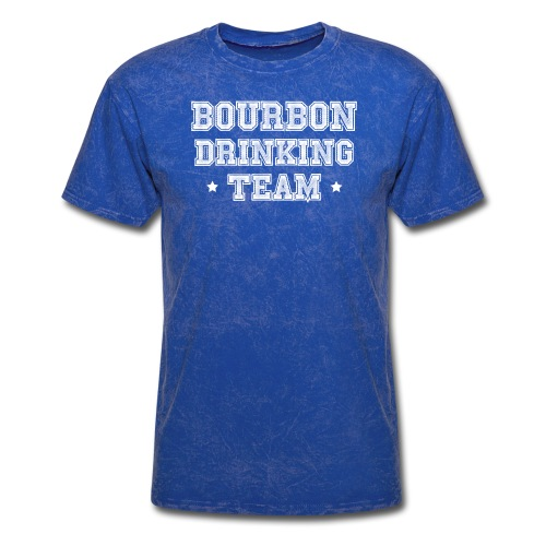 Bourbon Drinking Team - Men's T-Shirt