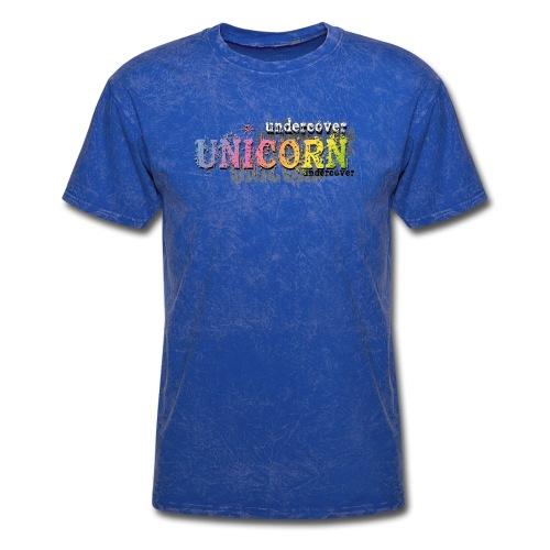 Undercover Unicorn - Men's T-Shirt