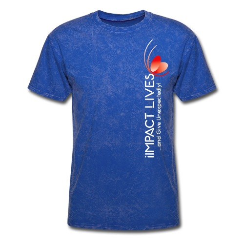 iImpact Lives and Give Unexpectedly! - Men's T-Shirt