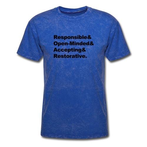 ROAR Helvetica - Men's T-Shirt