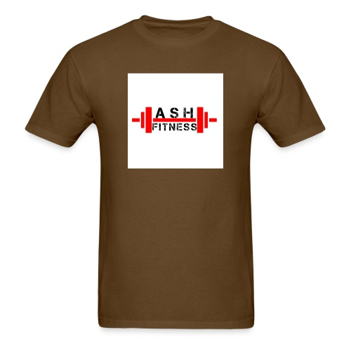 ASH FITNESS MUSCLE ACCESSORIES - Men's T-Shirt