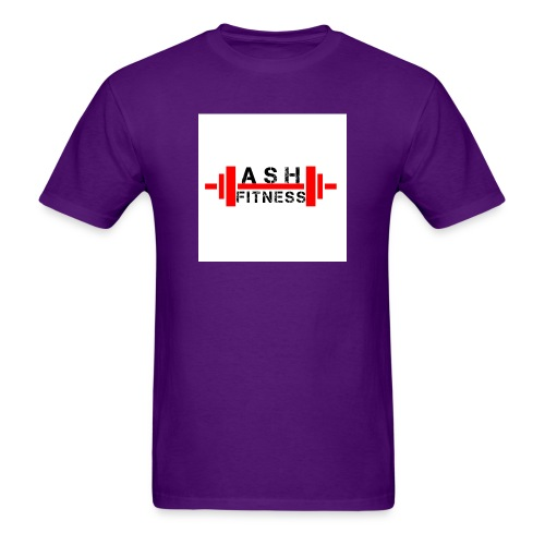 ASH FITNESS MUSCLE ACCESSORIES - Men's T-Shirt