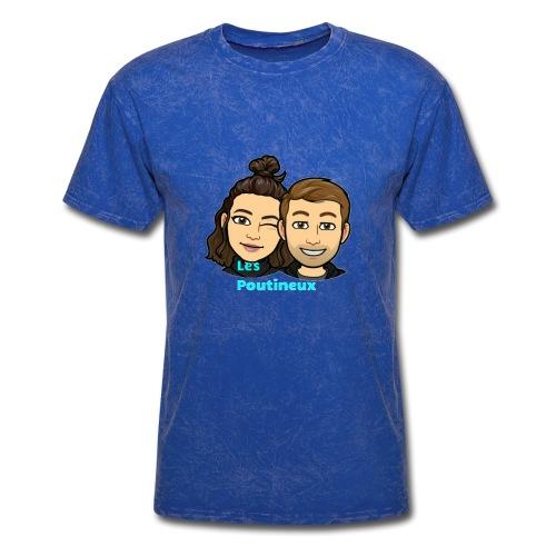 The poutineux - Men's T-Shirt