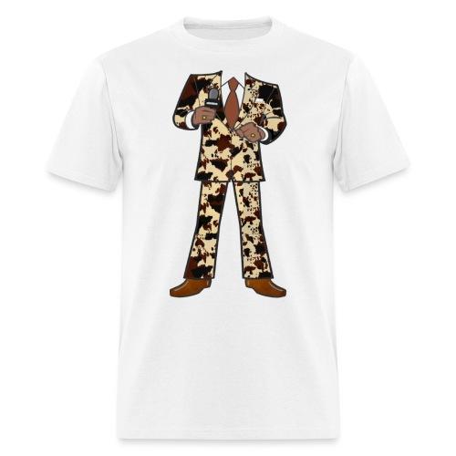 The Classic Cow Suit - Men's T-Shirt