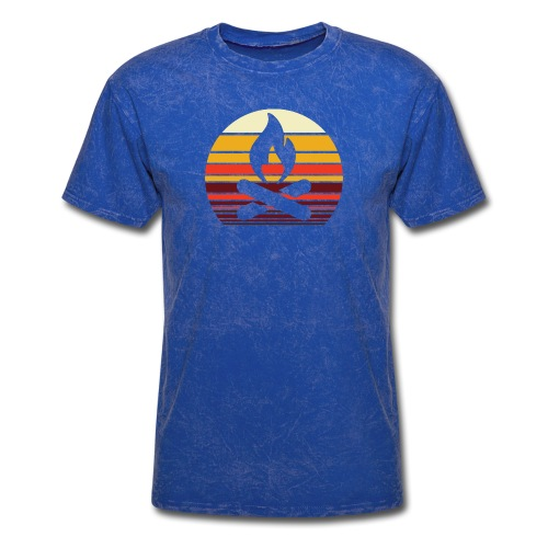 Campfire Sunset - Men's T-Shirt