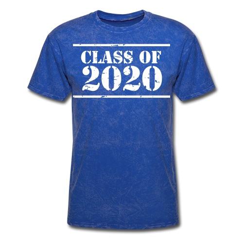 Class of 2020 stencil - Men's T-Shirt