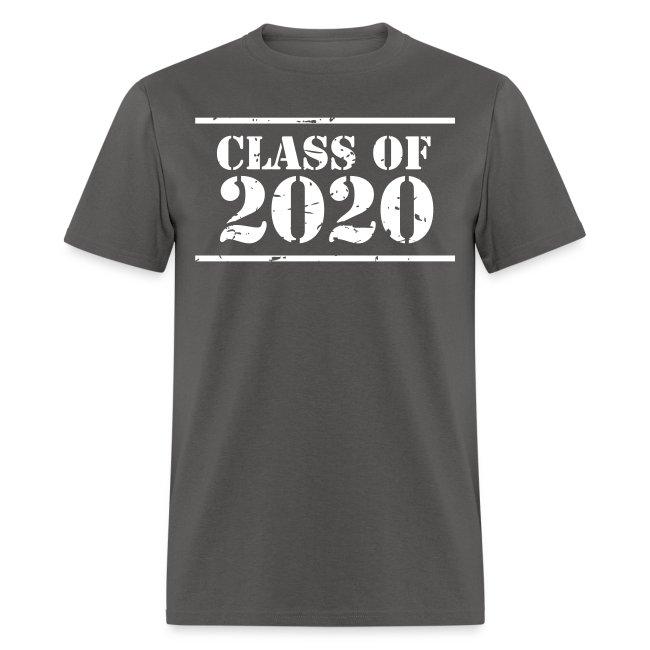 Class of 2020 stencil