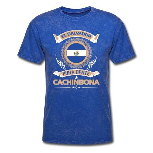 e2 1 el salvador gente cachinbona - Men's T-Shirt