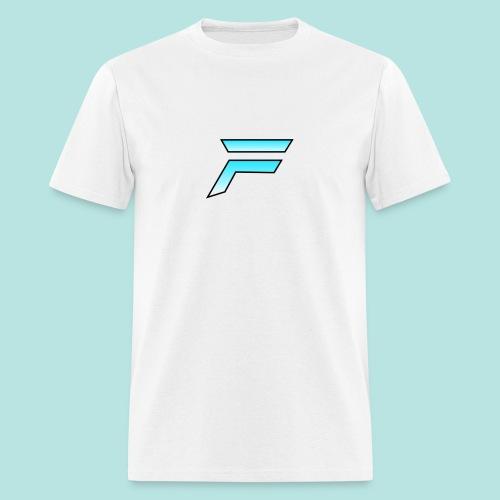 #furytfup Fade sharp logo - Men's T-Shirt