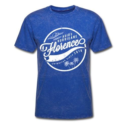 Adios Hurricane Florence - White - Men's T-Shirt
