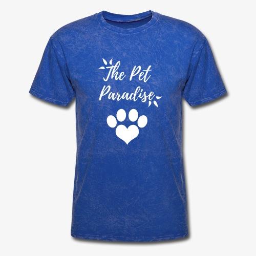 The Pet Paradise - Logo - Men's T-Shirt