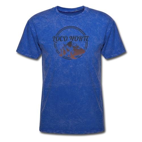 Loco Norte - mountain design - Men's T-Shirt