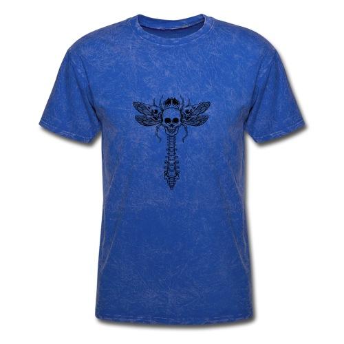 dragonfly skull - Men's T-Shirt