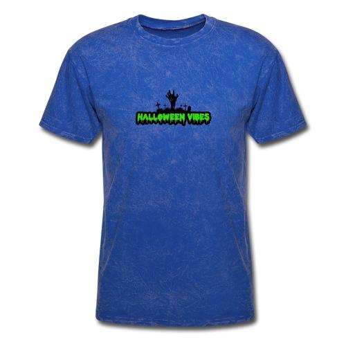 Halloween Funny skull zombie pumpkin shirt 2 - Men's T-Shirt