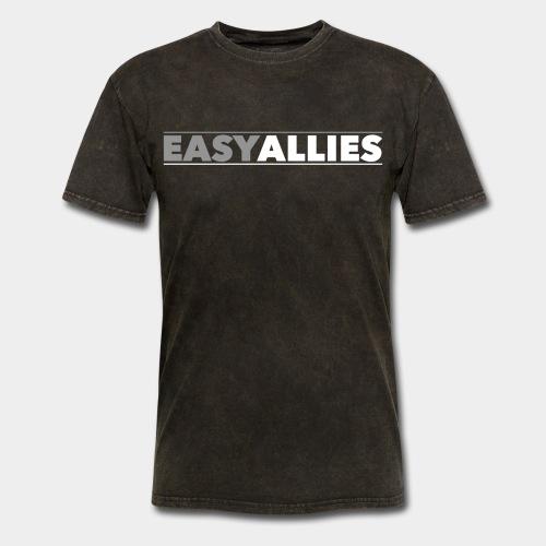 Easy Allies Gray Logo - Men's T-Shirt