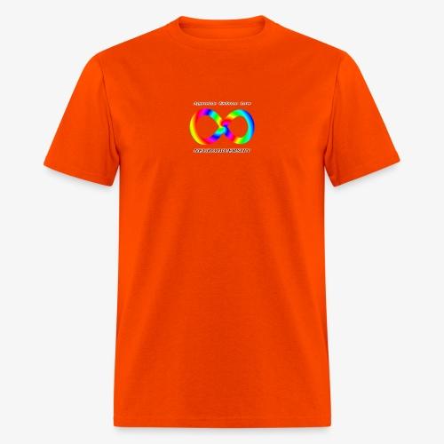 Embrace Neurodiversity with Swirl Rainbow - Men's T-Shirt