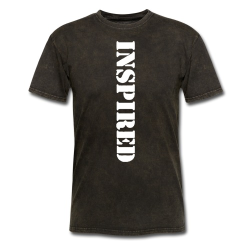 INSPIRED white - Men's T-Shirt