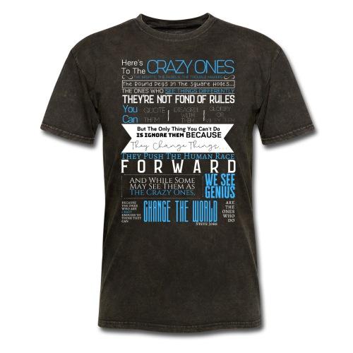 OCT 2019 - Steve Jobs | Here's To The Crazy Ones - Men's T-Shirt