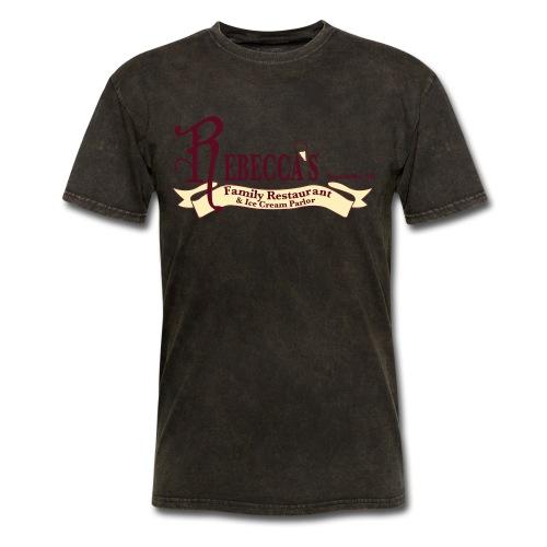 rebecca logo - Men's T-Shirt