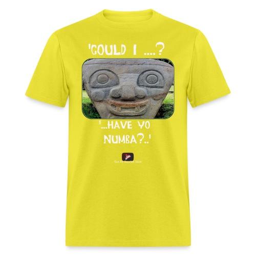 Alien Could I have your Number - Men's T-Shirt