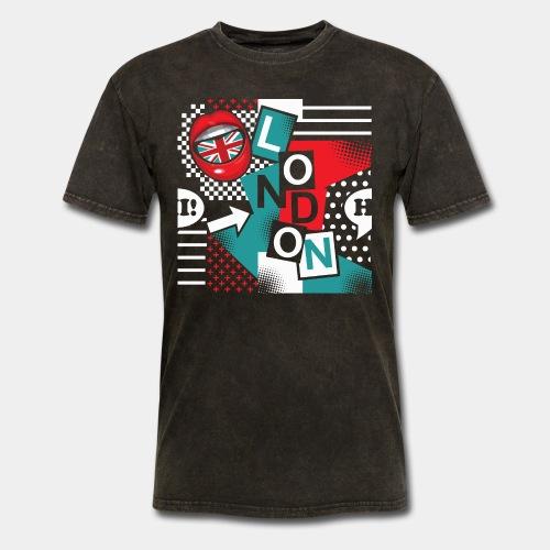 london pop art - Men's T-Shirt
