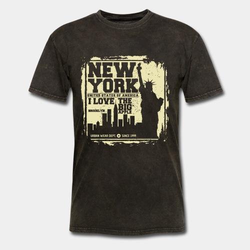 new york usa - Men's T-Shirt