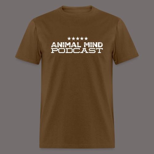 Animal Mind Patriotic Logo - Men's T-Shirt