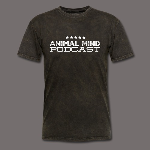 Animal Mind Patriotic Logo - Men's T-Shirt