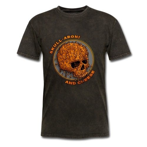 Skull-aroni & Cheese - Men's T-Shirt