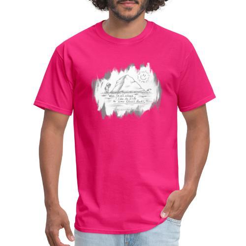 Listen to Classic Rock - Men's T-Shirt