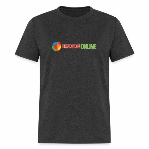 Reddcoin online logo red and green - Men's T-Shirt