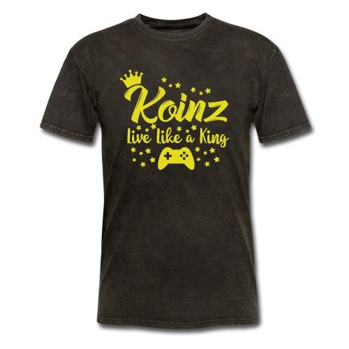 Live Like A King - Men's T-Shirt