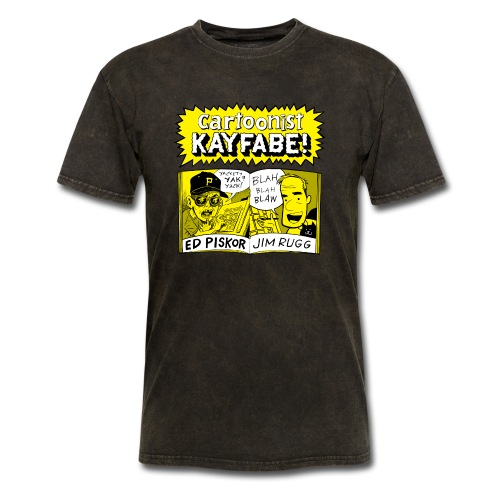 Cartoonist Kayfabe with Jim and Ed - Men's T-Shirt