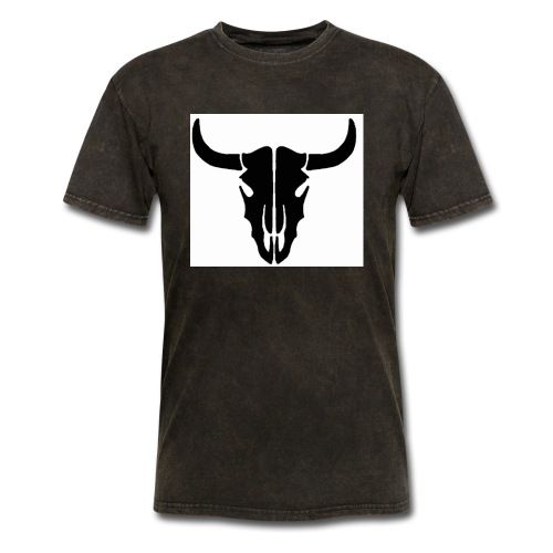 Longhorn skull - Men's T-Shirt