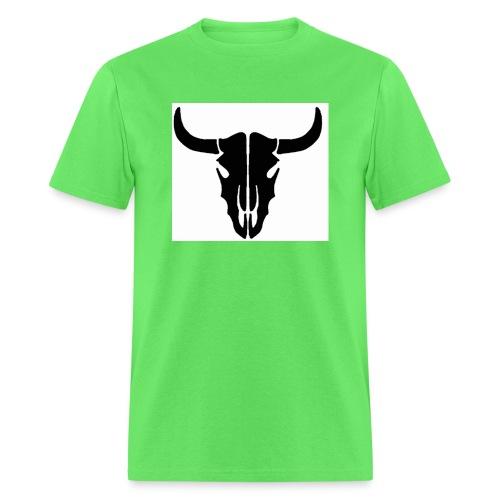 Longhorn skull - Men's T-Shirt