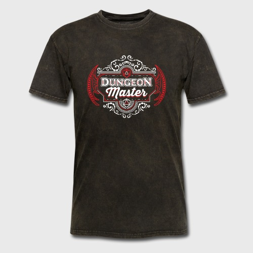dungeon master filigree fantasy gift d20 shirt - Men's T-Shirt