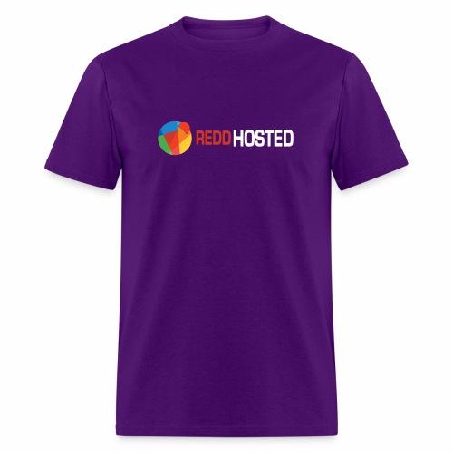 REDDHOSTED LOGO - Men's T-Shirt
