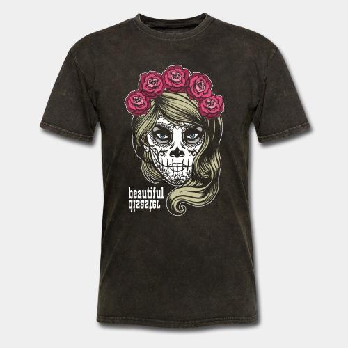 mexico celebrate death - Men's T-Shirt