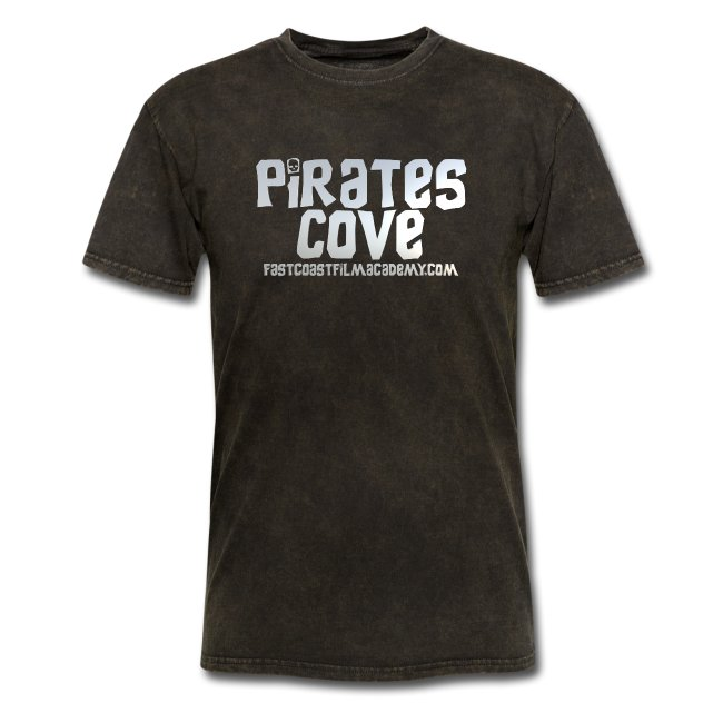 Pirates Cove 80's Logo Wh