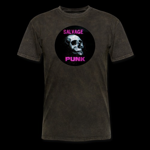 Salvage Punk Shirt 3d - Men's T-Shirt