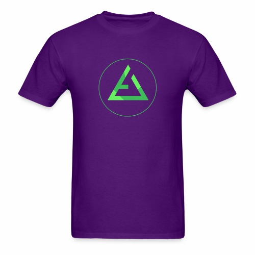 crypto logo branding - Men's T-Shirt